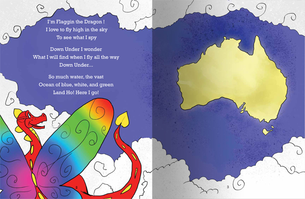 Rainbow Serpent pages 2 and 3