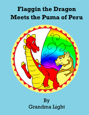 Cover of Flaggin the Draggin and the Puma of Peru